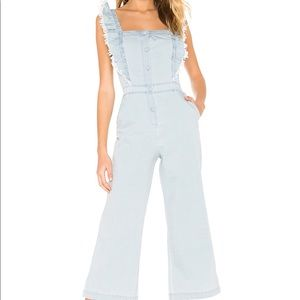 JACK by BB Dakota Yes Way Chambray Jumpsuit
